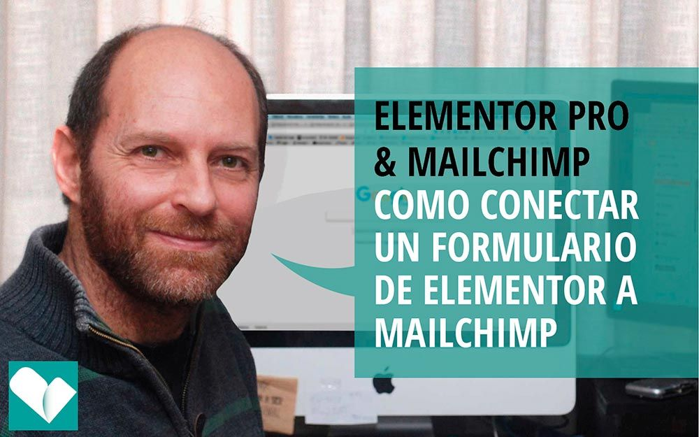 como conectar un formulario de Elementor con mailchimp