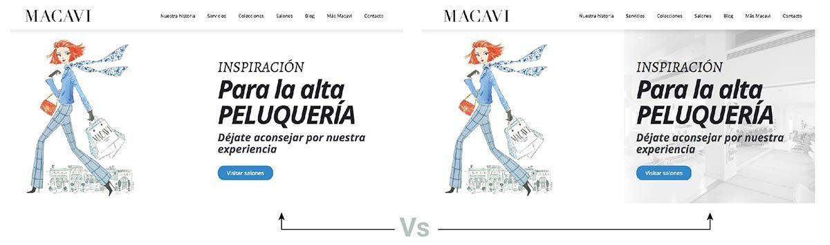 comparacion fondo web macavi